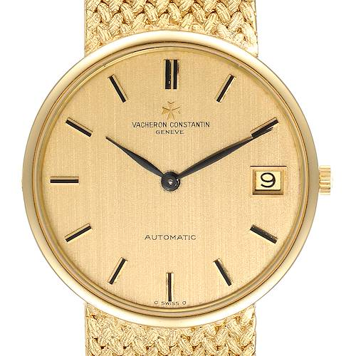 Photo of Vacheron Constantin Patrimony 18K Yellow Gold Automatic Mens Watch 44012