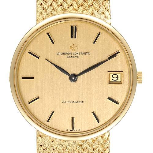 Photo of Vacheron Constantin Patrimony 18K Yellow Gold Automatic Mens Watch 44012