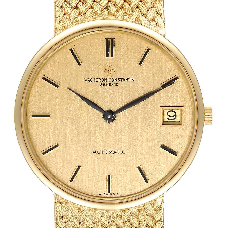 Vacheron Constantin Patrimony 18K Yellow Gold Automatic Mens Watch 44012 SwissWatchExpo