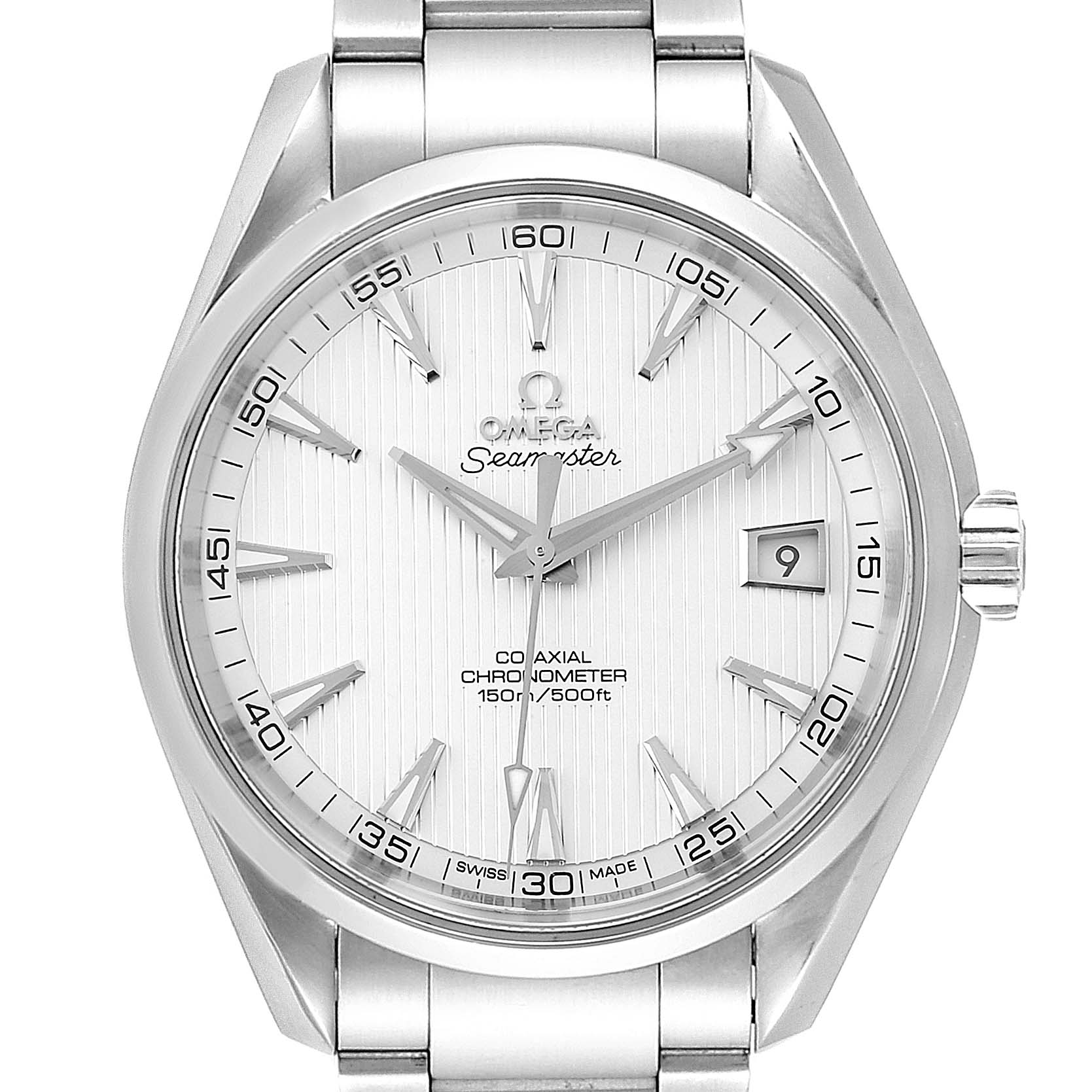 Omega Seamaster Aqua Terra Co-Axial Steel Watch 231.10.42.21.02.001