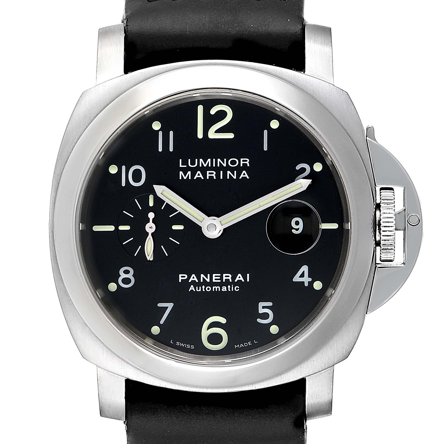 Panerai Luminor Marina 44mm Automatic Watch PAM00164 PAM164 Box Card