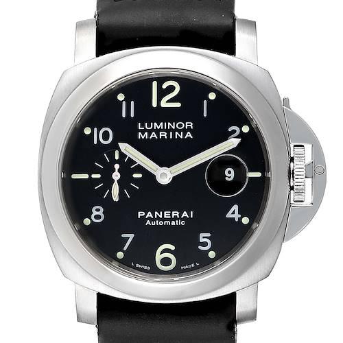 Photo of Panerai Luminor Marina 44mm Automatic Watch PAM00164 PAM164 Box Card