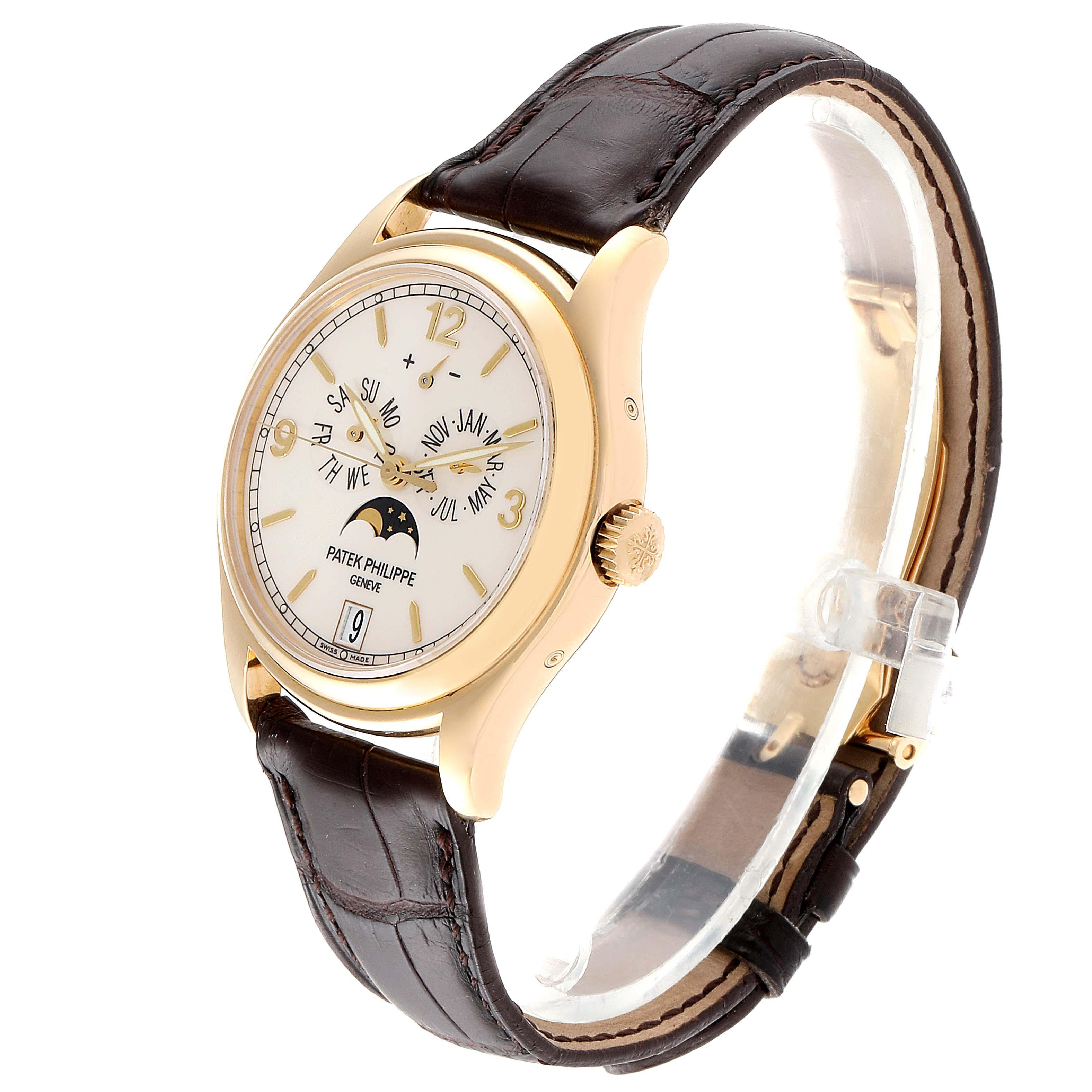 Patek Philippe Complicated Annual Calendar Yellow Gold Mens Watch 5146 SwissWatchExpo
