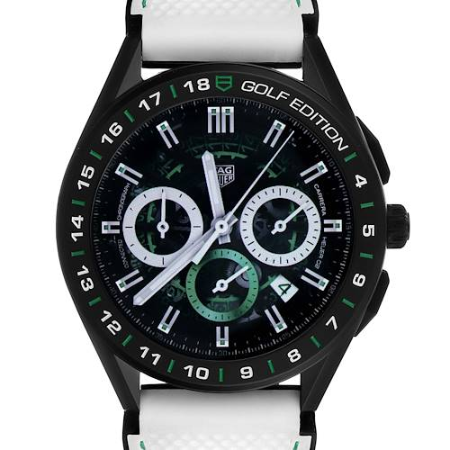 Photo of Tag Heuer Connected Golf Edition Titanium Mens Watch SBG8A82 Unworn