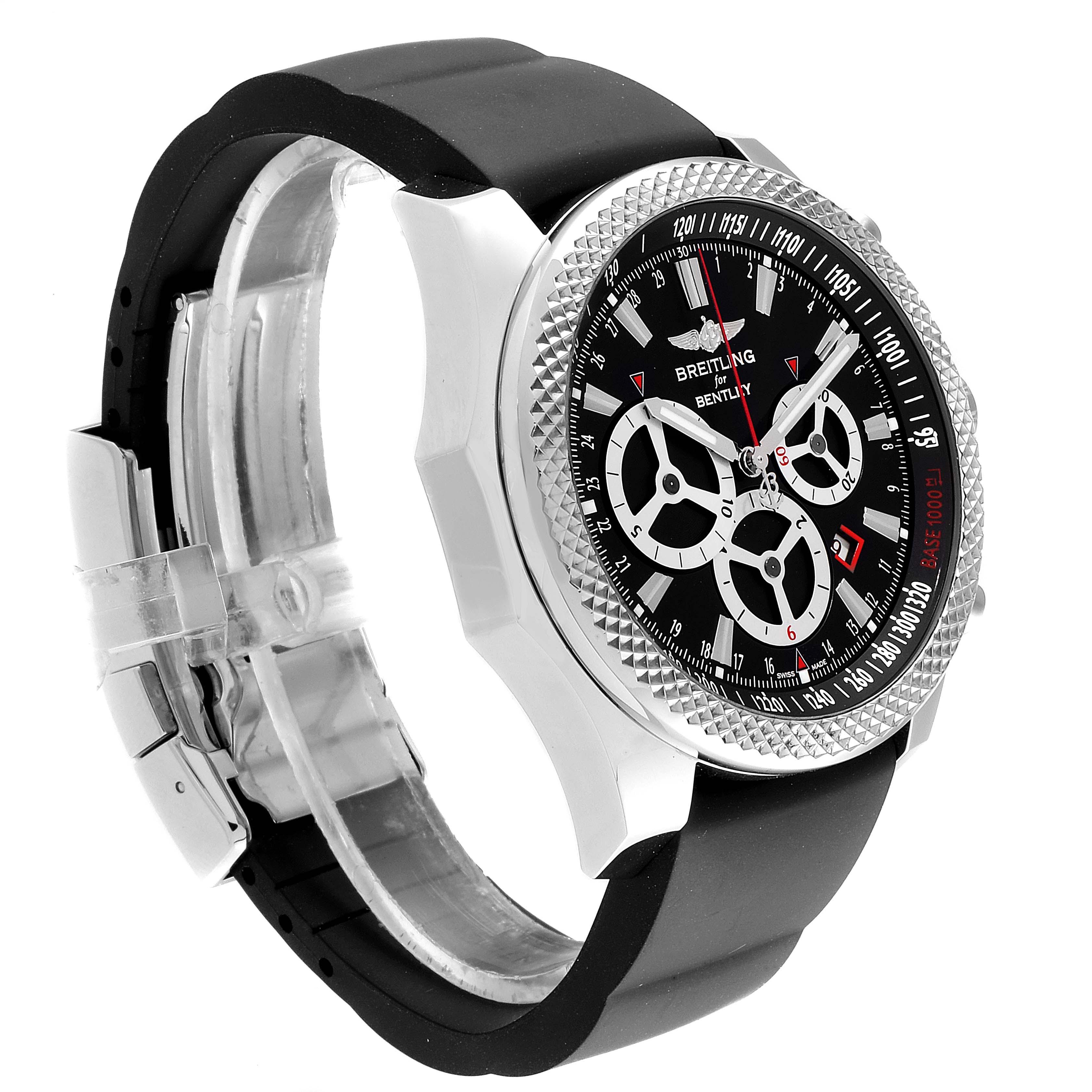 Breitling Bentley Barnato Racing Black Dial Mens Watch A25366 SwissWatchExpo