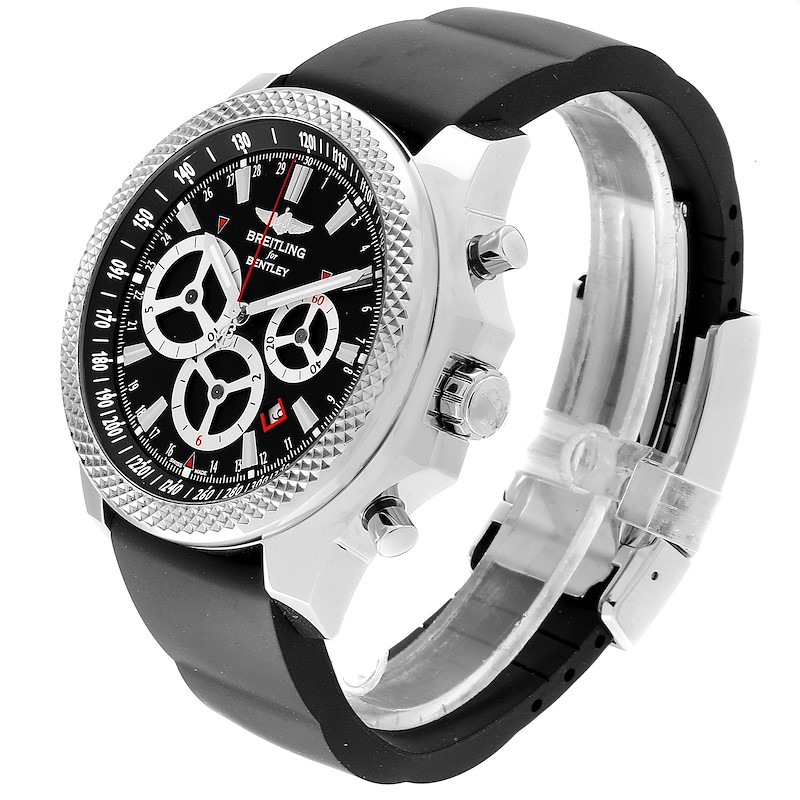Breitling Bentley Barnato Racing Black Dial Mens Watch A25366 SwissWatchExpo