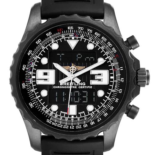 Photo of Breitling Chronospace Black PVD Limited Edition Watch M78365