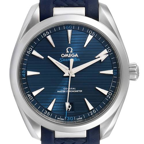 Photo of Omega Seamaster Aqua Terra Blue Dial Watch 220.12.41.21.03.001 Box Card