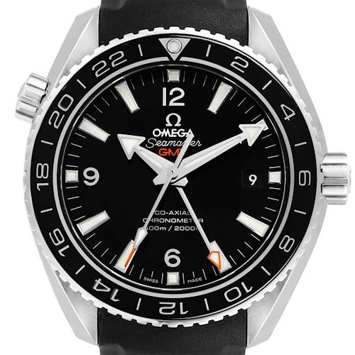 Photo of Omega Seamaster Planet Ocean GMT 600m Watch 232.32.44.22.01.001 Box Card