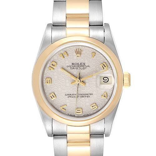 Photo of Rolex Datejust Midsize 31 Steel Yellow Gold Ladies Watch 68243