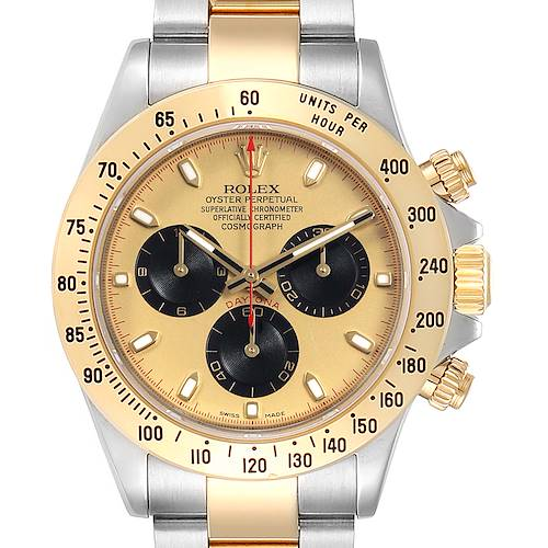 Photo of Rolex Daytona Paul Newman Dial Steel Yellow Gold Mens Watch 116523
