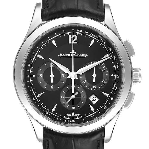 Photo of Jaeger Lecoultre Master Chronograph Mens Watch Q1538470 Box Papers
