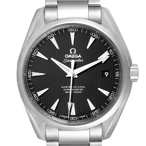Photo of Omega Seamaster Aqua Terra Steel Mens Watch 231.10.42.21.01.003 Box Card