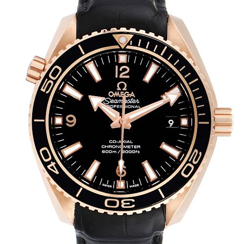 Photo of Omega Seamaster Planet Ocean 18k Rose Gold Watch 232.63.42.21.01.001 Unworn