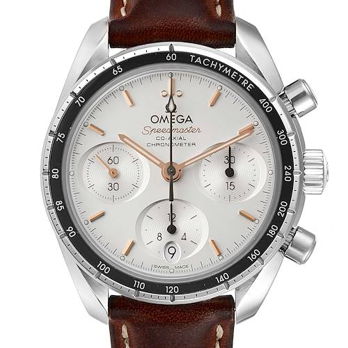 Photo of Omega Speedmaster 38 Co-Axial Chronograph Watch 324.32.38.50.02.001