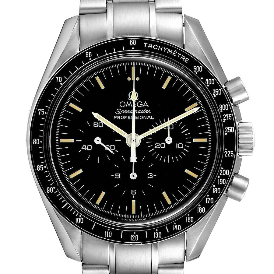 Omega Speedmaster 861 Steel Mens Moon Watch 3590.50.00 SwissWatchExpo