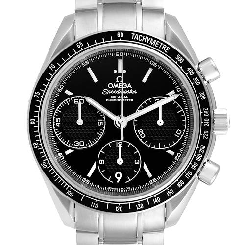 Photo of Omega Speedmaster Racing Black Dial Steel Mens Watch 326.30.40.50.01.001