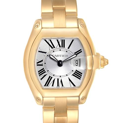 Photo of Cartier Roadster Ladies 18K Yellow Gold Ladies Watch W62018V1
