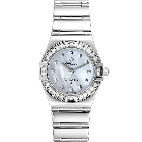 Photo of Omega Constellation My Choice Mini Diamond Steel Ladies Watch 1465.71.00