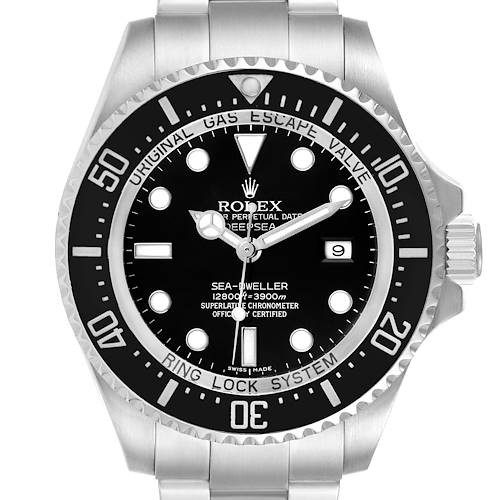Photo of Rolex Seadweller Deepsea Black Dial Ceramic Bezel Mens Watch 116660