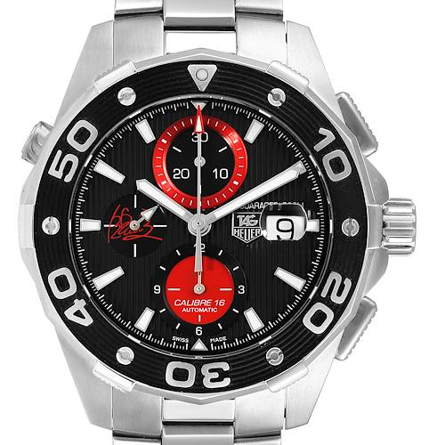 Photo of Tag Heuer Aquaracer AIR-K Nishikori Japan Limited Mens Watch CAJ2113 Card