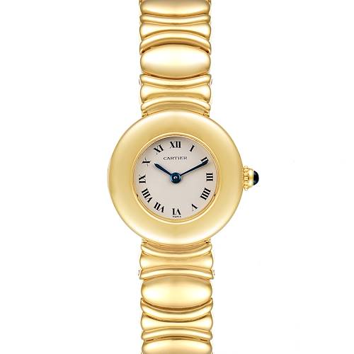 Photo of Cartier Colisee 18K Yellow Gold Silver Dial Ladies Watch