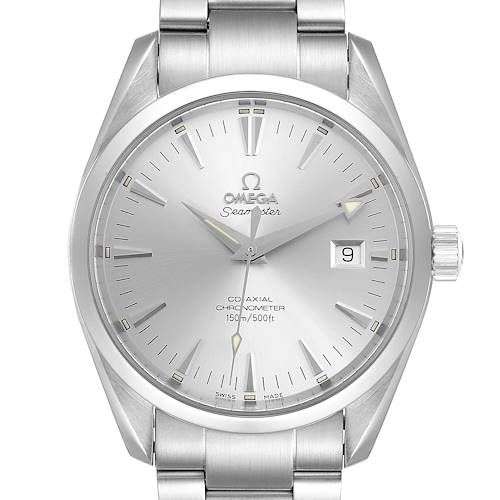Photo of Omega Seamaster Aqua Terra Silver Dial Steel Mens Watch 2503.30.00