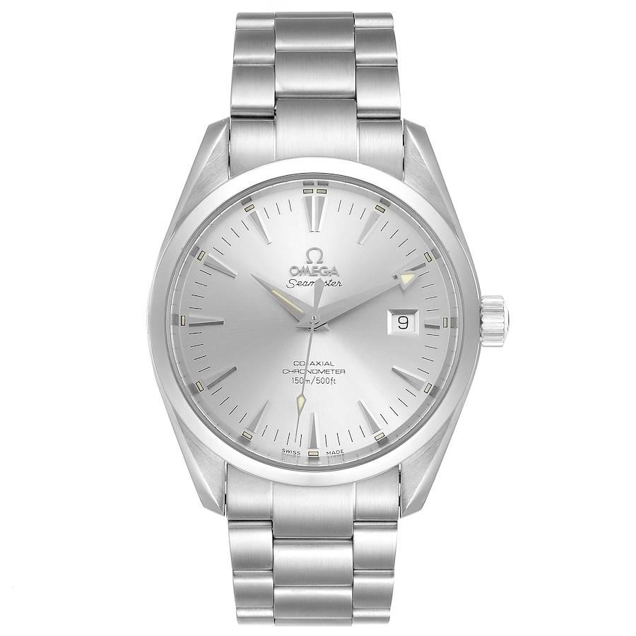 Omega Seamaster Aqua Terra Silver Dial Steel Mens Watch 2503.30.00 SwissWatchExpo