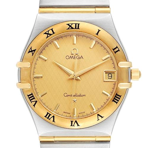 Photo of Omega Constellation Steel 18K Yellow Gold Mens Watch 1212.10.00
