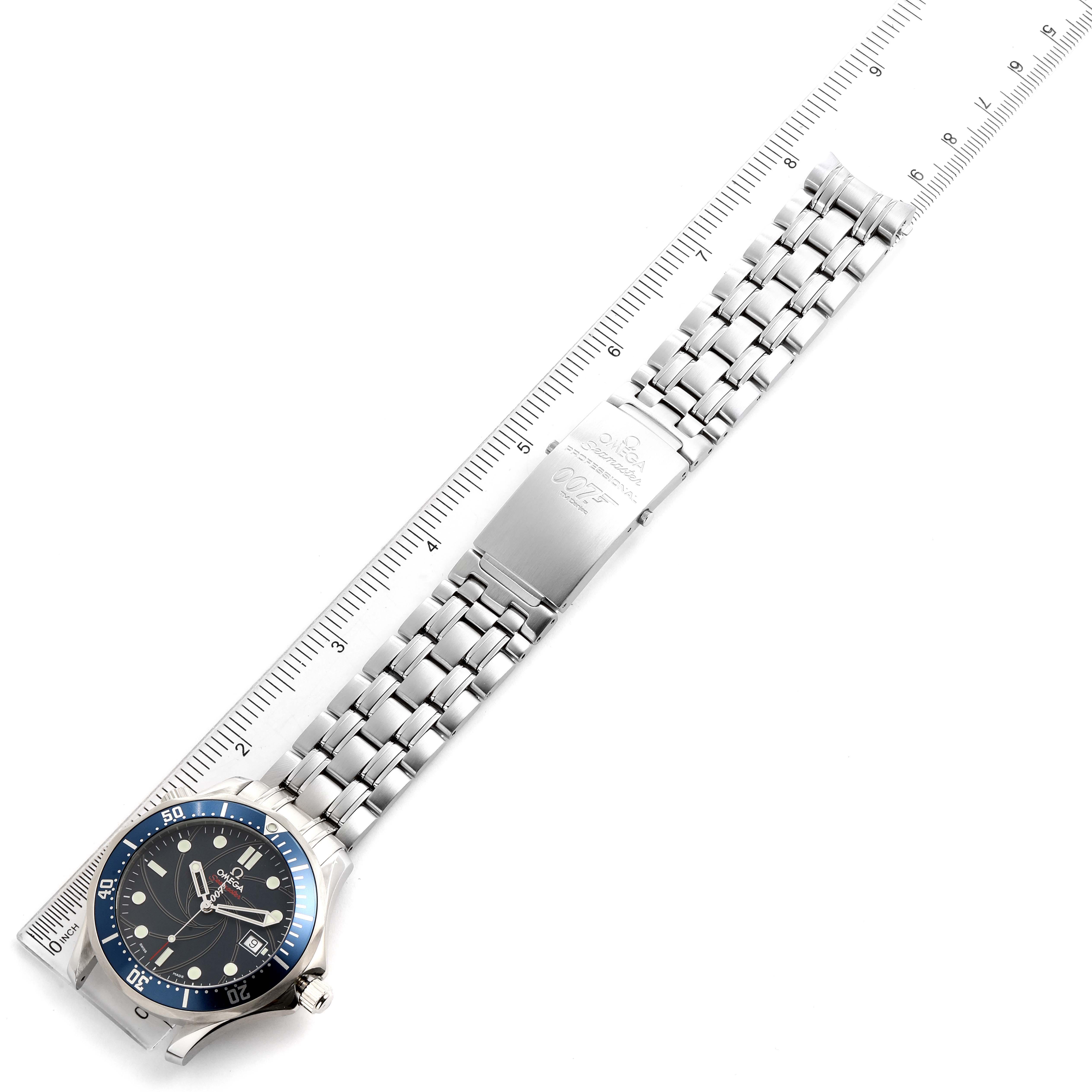 Omega Seamaster Bond 007 Limited Edition Mens Watch 2226.80.00 SwissWatchExpo