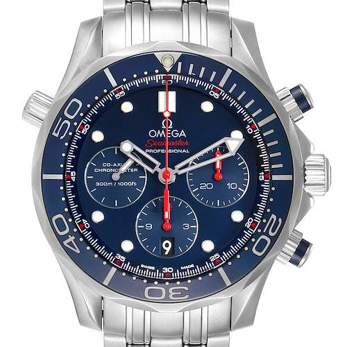 Photo of Omega Seamaster Diver 300M 44mm Watch 212.30.44.50.03.001 Card
