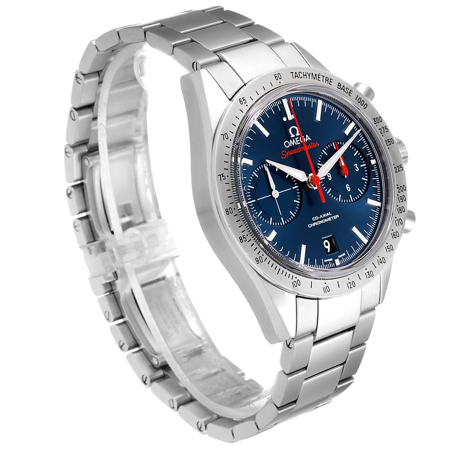Omega Speedmaster 57 Co-Axial Chronograph Watch 331.10.42.51.03.001 Box Card SwissWatchExpo