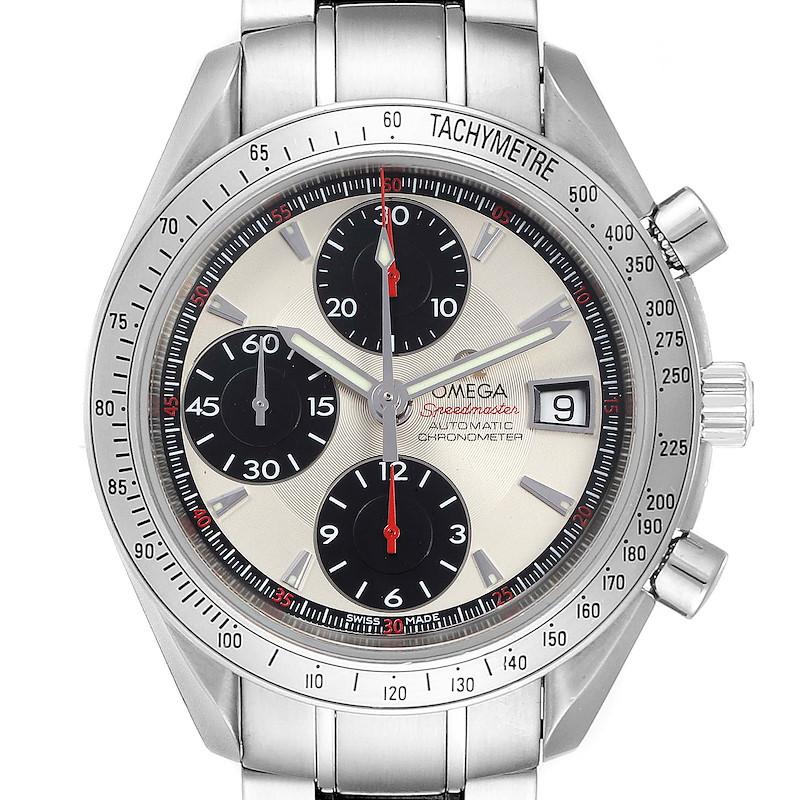 Omega Speedmaster Date Panda Dial Cronograph Mens Watch 3211.31.00 SwissWatchExpo
