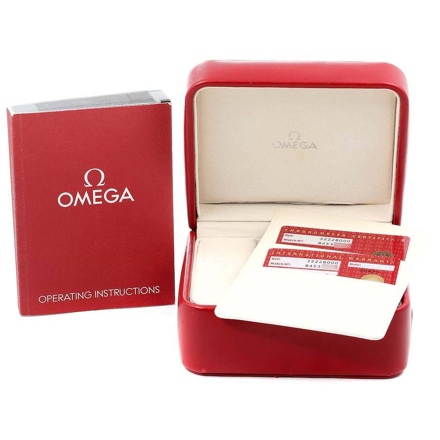 Omega Speedmaster Day Date Chronograph Watch 3222.80.00 Box Card SwissWatchExpo