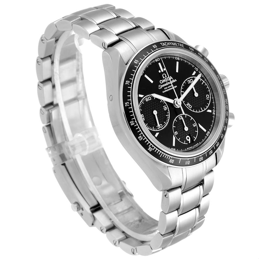 Omega Speedmaster Racing Black Dial Steel Mens Watch 326.30.40.50.01.001 SwissWatchExpo