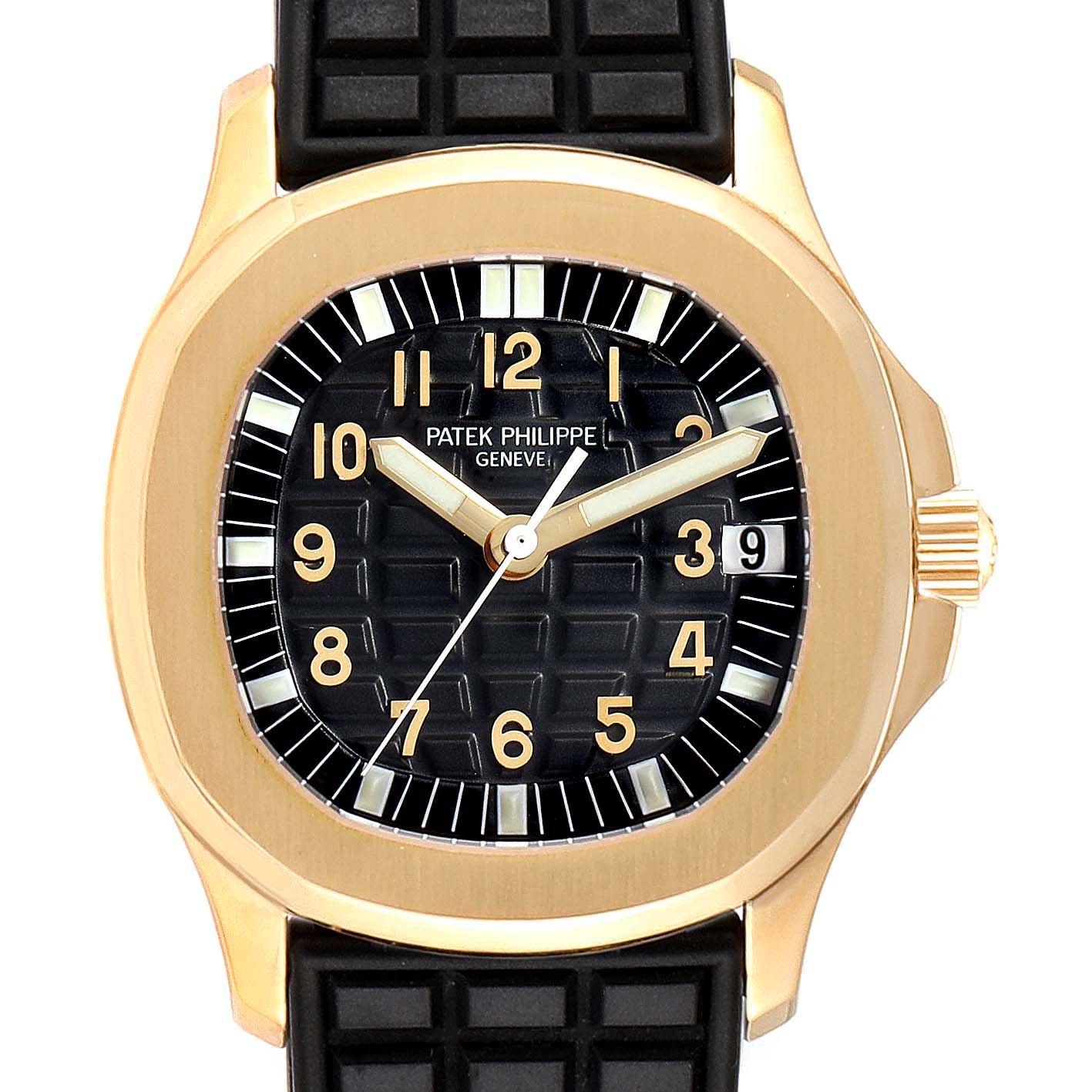 Patek Philippe Aquanaut Midsize Automatic Yellow Gold Watch 5066 SwissWatchExpo