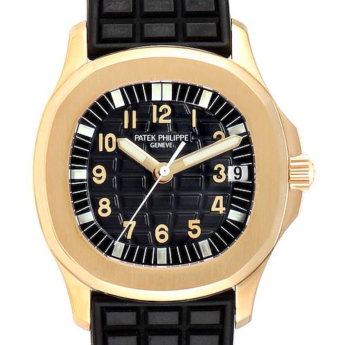 Photo of Patek Philippe Aquanaut Midsize Automatic Yellow Gold Watch 5066
