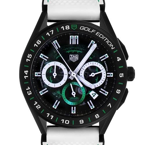 Photo of Tag Heuer Connected Golf Edition Titanium Mens Watch SBG8A82 Box Papers