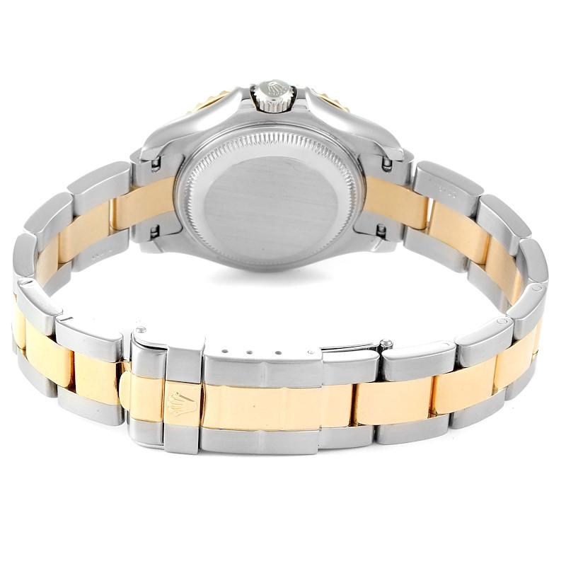 Rolex Yachtmaster Steel 18K Yellow Gold Ladies Watch 169623 Box SwissWatchExpo