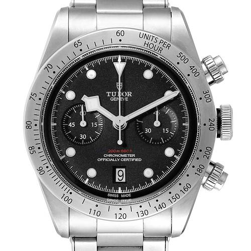 Photo of Tudor Heritage Black Bay Chrono Steel Mens Watch 79350