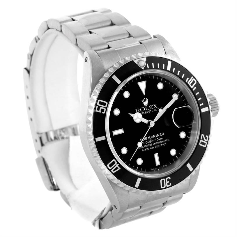 10264 Rolex Submariner Mens Stainless Steel Watch 16610 Year 1998 SwissWatchExpo