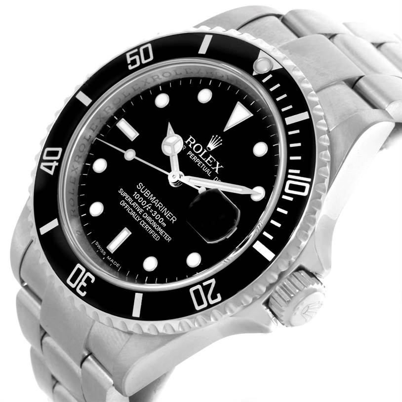 10310 Rolex Submariner Mens Stainless Steel Watch 16610 Year 2008 SwissWatchExpo