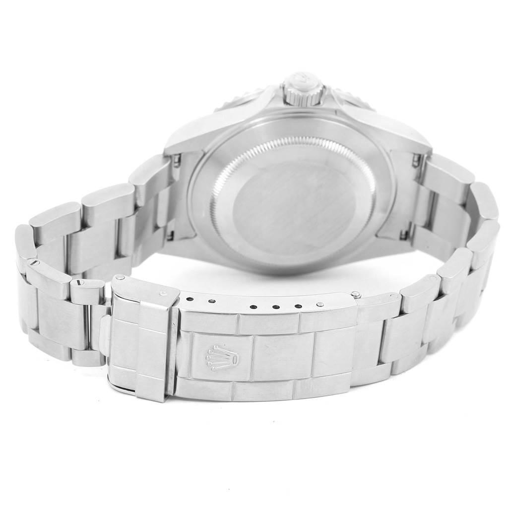 14546 Rolex Submariner Green Bezel 50th Anniversary Mens Watch 16610LV SwissWatchExpo