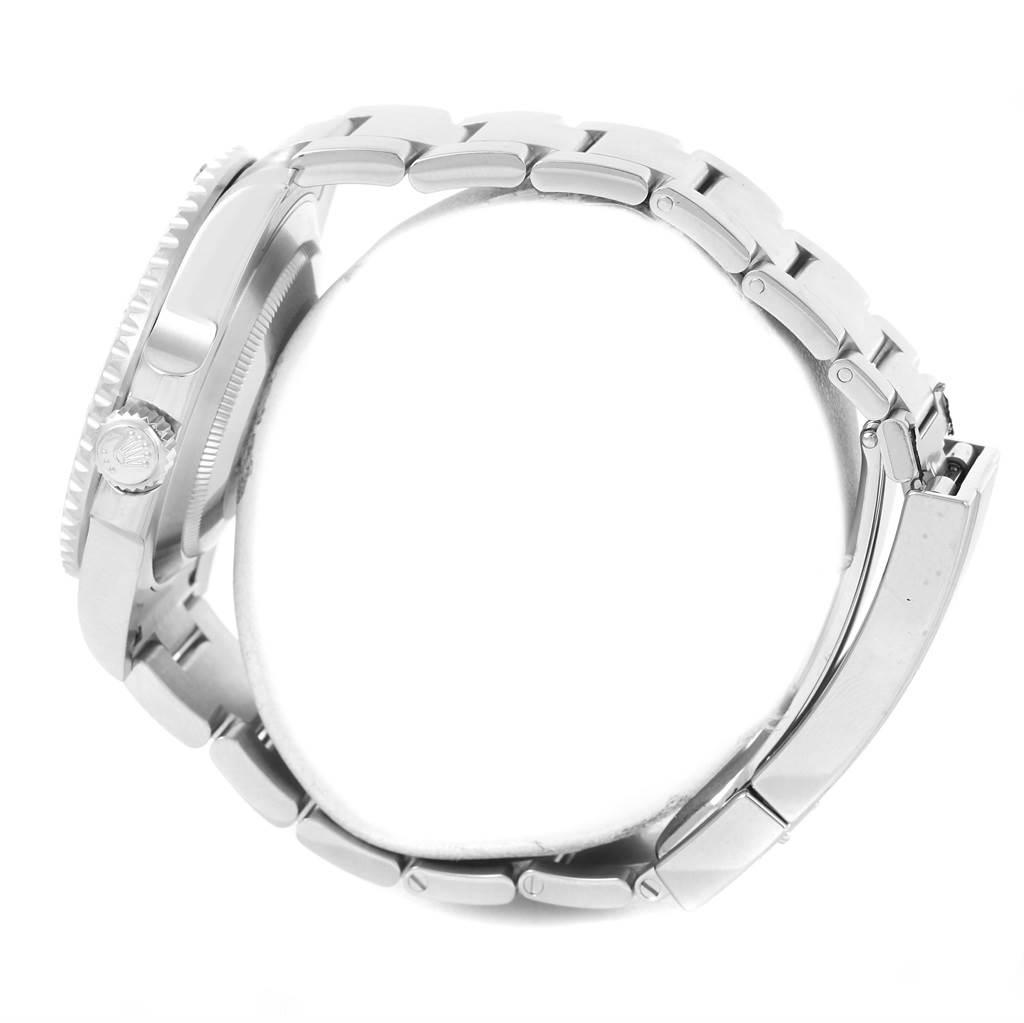 Rolex Submariner Non Date Mens Steel Black Dial Watch 114060 Unworn SwissWatchExpo