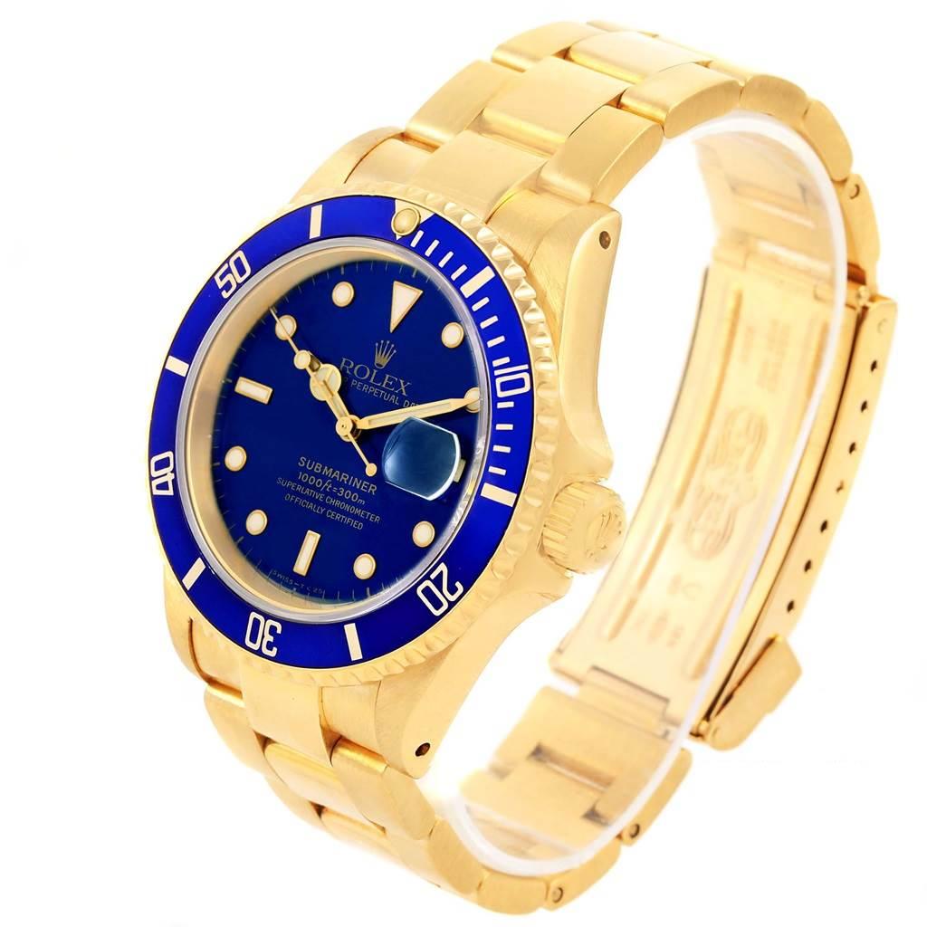 Rolex Submariner Gold Face