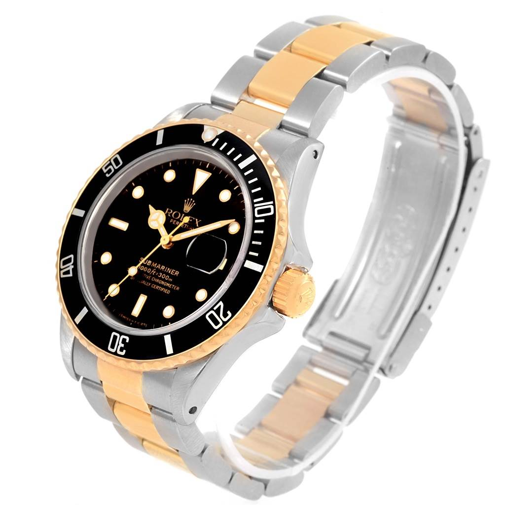 yellow rolex submariner com dp watches amazon sub steel stainless blue ceramic mariner watch gold