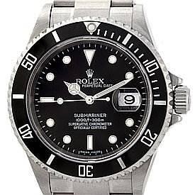 Photo of Rolex Submariner Mens Ss Watch 16610 Year 2006