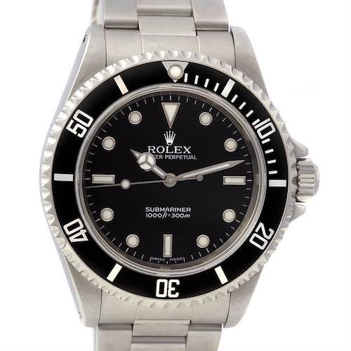 Photo of Rolex Submariner Mens Ss Watch 14060 Year 2006