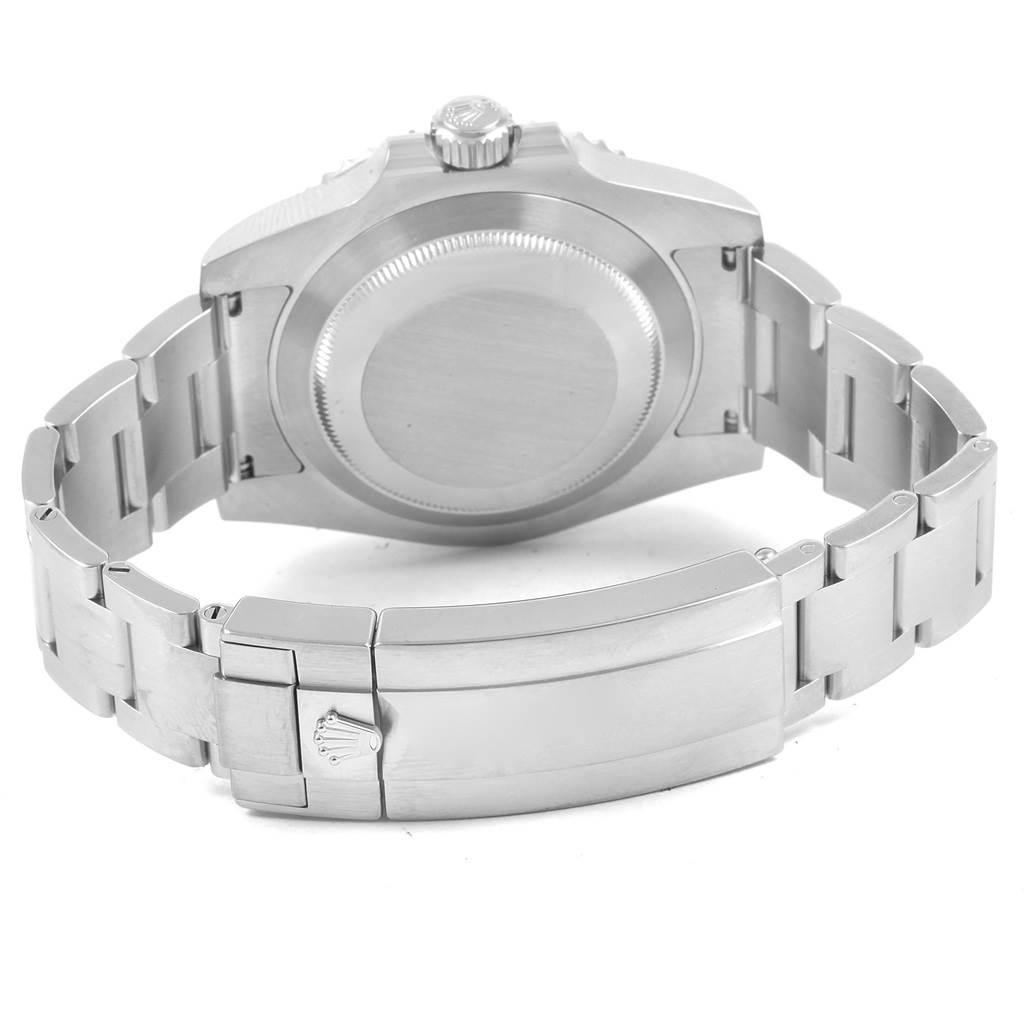 21067 Rolex Submariner Black Dial Ceramic Bezel Steel Mens Watch 114060 SwissWatchExpo
