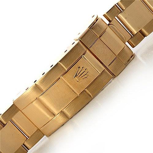 2479 Rolex Submariner 16618 18k Gold Serti Diamond Sapphire SwissWatchExpo
